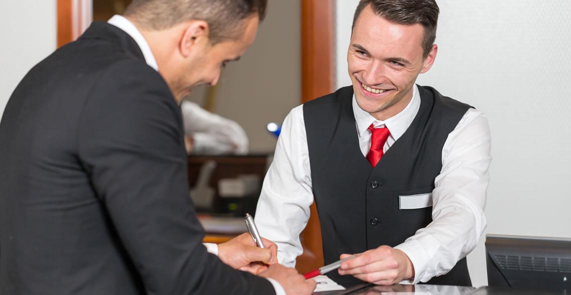 Hotel reception Diploma