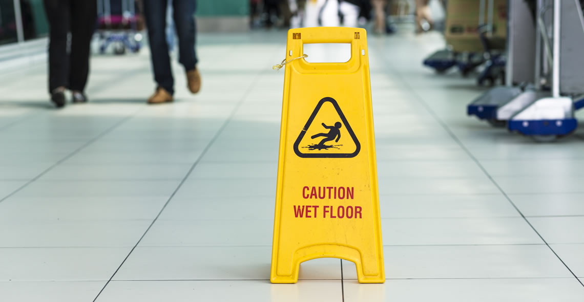 Preventing Slips and Trips in the Workplace Certification